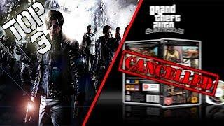 TOP 3 | Juegos cancelados para PSP | HD | luigi2498