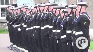 Class King passing out parade