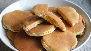 Cách làm bánh Hot dog VN (không cần máy) - How to make Savoury Fluffy Pancakes (recipe)