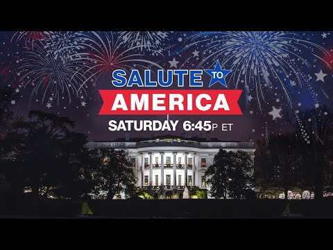 July 4, 2020: Watch Live - White House Independence Day Celebration - Trump hosts Salute to America