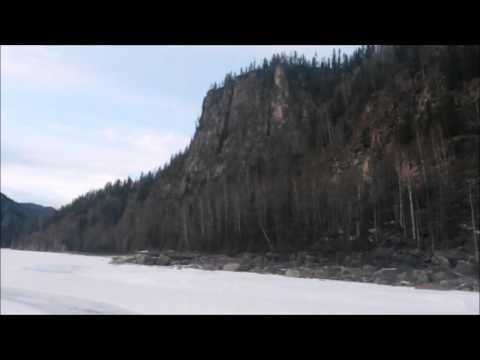 Дорога из деревни Нерха в город Нижнеудинск
