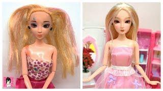 Doll repaint TUTORIAL / Ami DIY