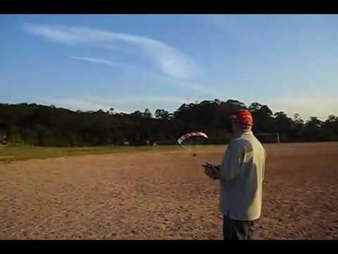 how to make a mini paraglider