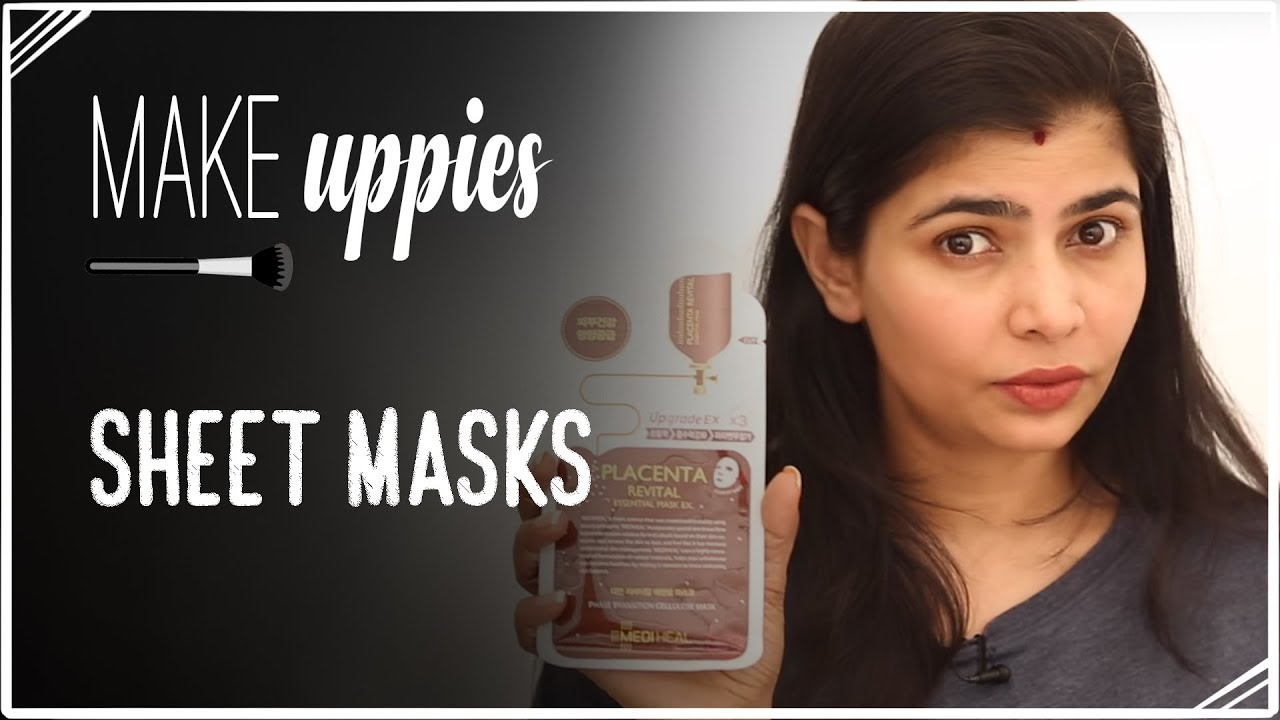 how to make homemade sheet masks