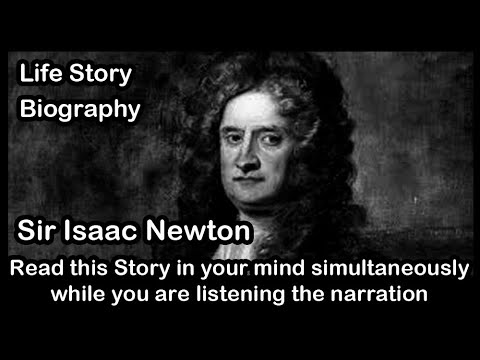 Sir Isaac Newton Biography | Story Of Gravity | Inspirational Stories In English