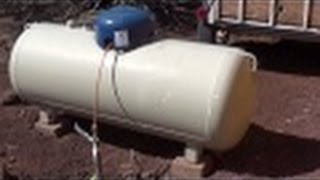 Propane Tank on the Homestead - Off Grid Living