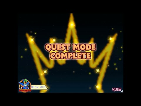 [L] Bejeweled 3 - Full Longplay: Quest Mode [720p50]