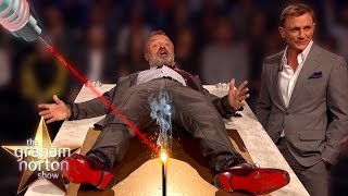 THE NAME'S NORTON. GRAHAM NORTON - Best Action Heroes on The Graham Norton Show