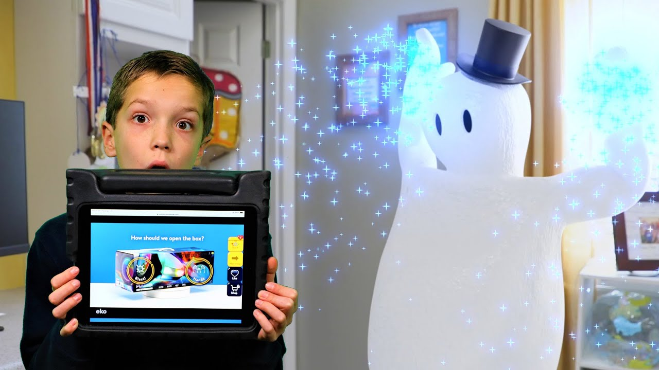Jack Frost Wants To Ruin Our Christmas!  Walmart Wonder Lab to the Rescue!  Christmas Horror!