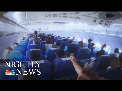 Flight Diverted To Hawaii After Turbulence Injures Dozens   NBC Nightly News