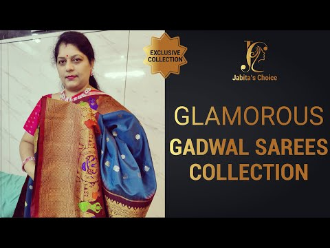 Glamorous Gadwal Sarees