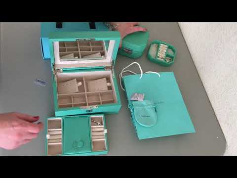 Perfect jewelry box for the Tiffany&Co collector
