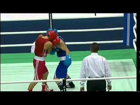 Bantam (56kg) Final - Melian (ARG) vs Valdez (MEX) - 2012 American Olympic Qualifying Event