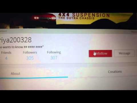 How to follow a person on Roblox NOT UPDATED!