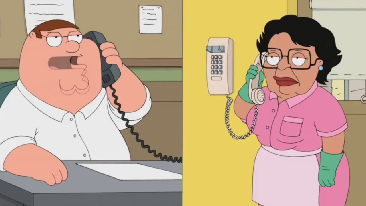 Family Guy - Peter Calls Consuela
