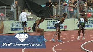 Crazy Shorts Pull In The Men's 5000m - IAAF Diamond League Lausanne 2018