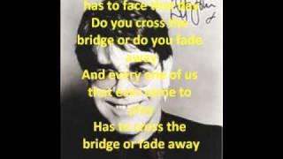 The Bridge Lyrics Elton John
