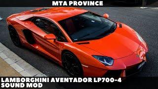 Lamborghini Aventador LP700-4 Sound Mod [MTA Province] Resimi
