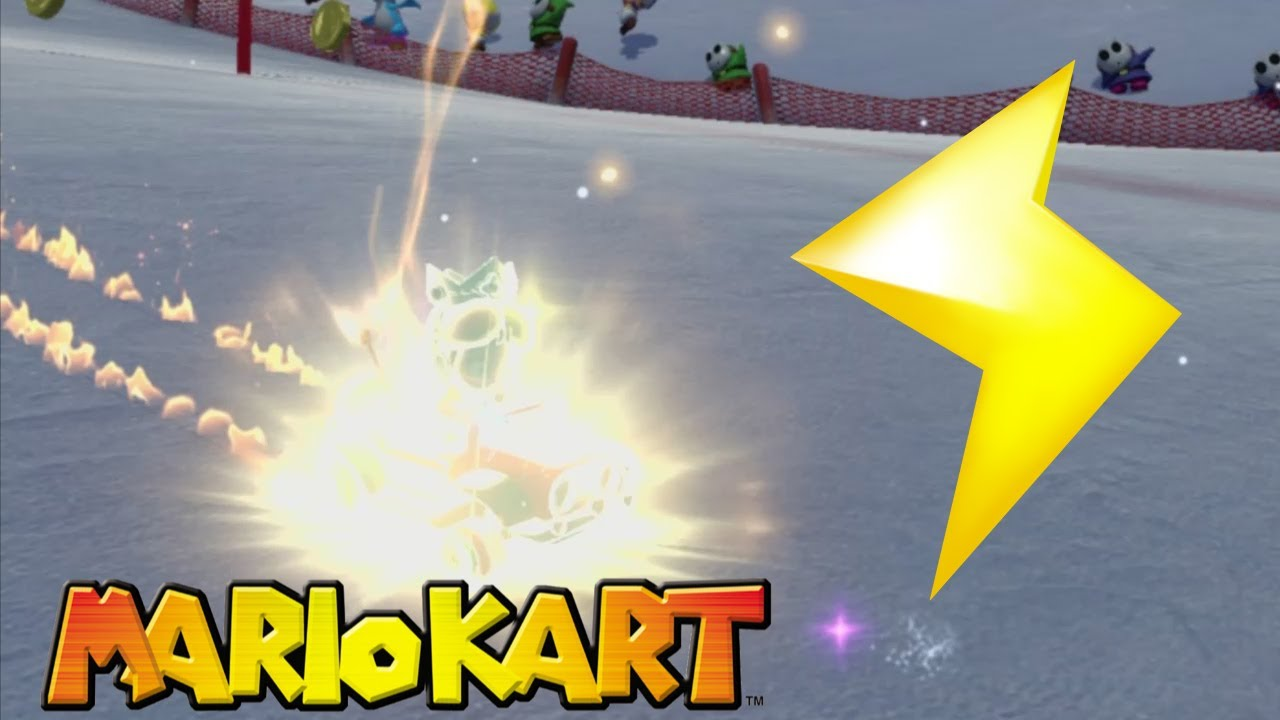 Mario Kart Lightning Bolt Dodge & Use Montage - MK8 Deluxe, Wii U, MK7, & MKWii! - YouTube