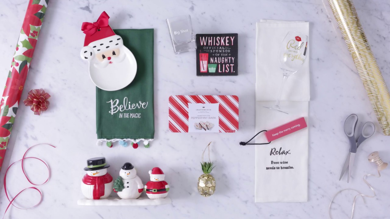 Best Holiday Hostess Gifts   Gifted - YouTube