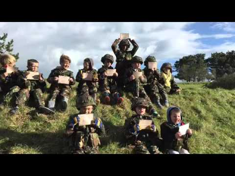 Childrens Military Bushcraft And Survival Birthday Parties With - Children's birthday experiences