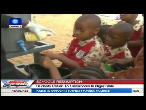 Students Subjected To Health Checks As Schools Resume In Niger
