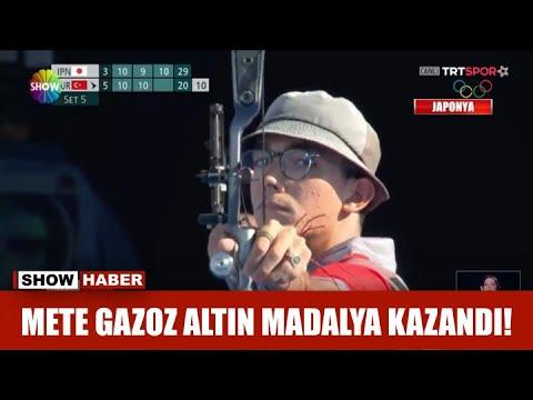 Download Mete Gazoz altın madalya kazandı!