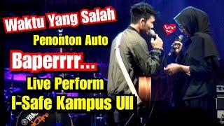 Download Waktu Yang Salah - Fiersa Besari Cover Live Tri Suaka ft Hilda di I- Safe Kampus UII
