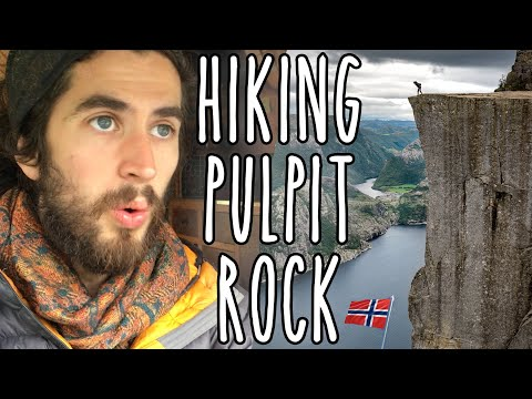 Hiking The Pulpit Rock in Norway – by campervan and foot