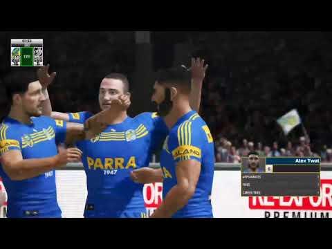 NRL Draft - NRL 9s Round 2 Parramatta Eels vs St George Illawarra Dragons highlights