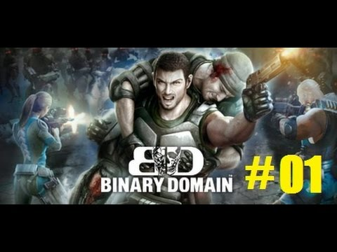 Binary Domain part 01: Welcome to Tokyo