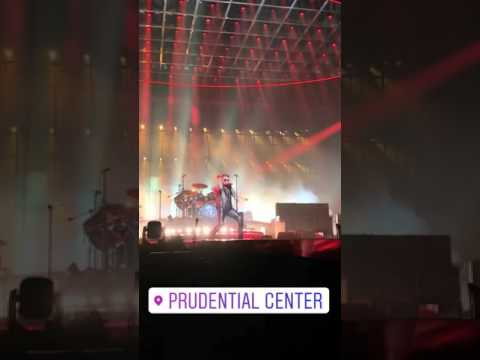 Prudential Center instagram stories, Queen and Adam Lambert, July 26