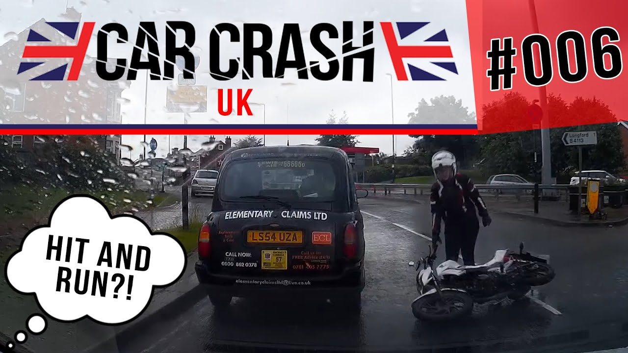 Uk Bad Driving Car Crash Compilation 006 June 2016 Youtube