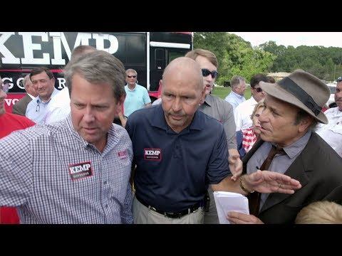 Greg Palast Sues Georgia's Brian Kemp for Purging 340,000 from Voter Rolls Ahead of Election