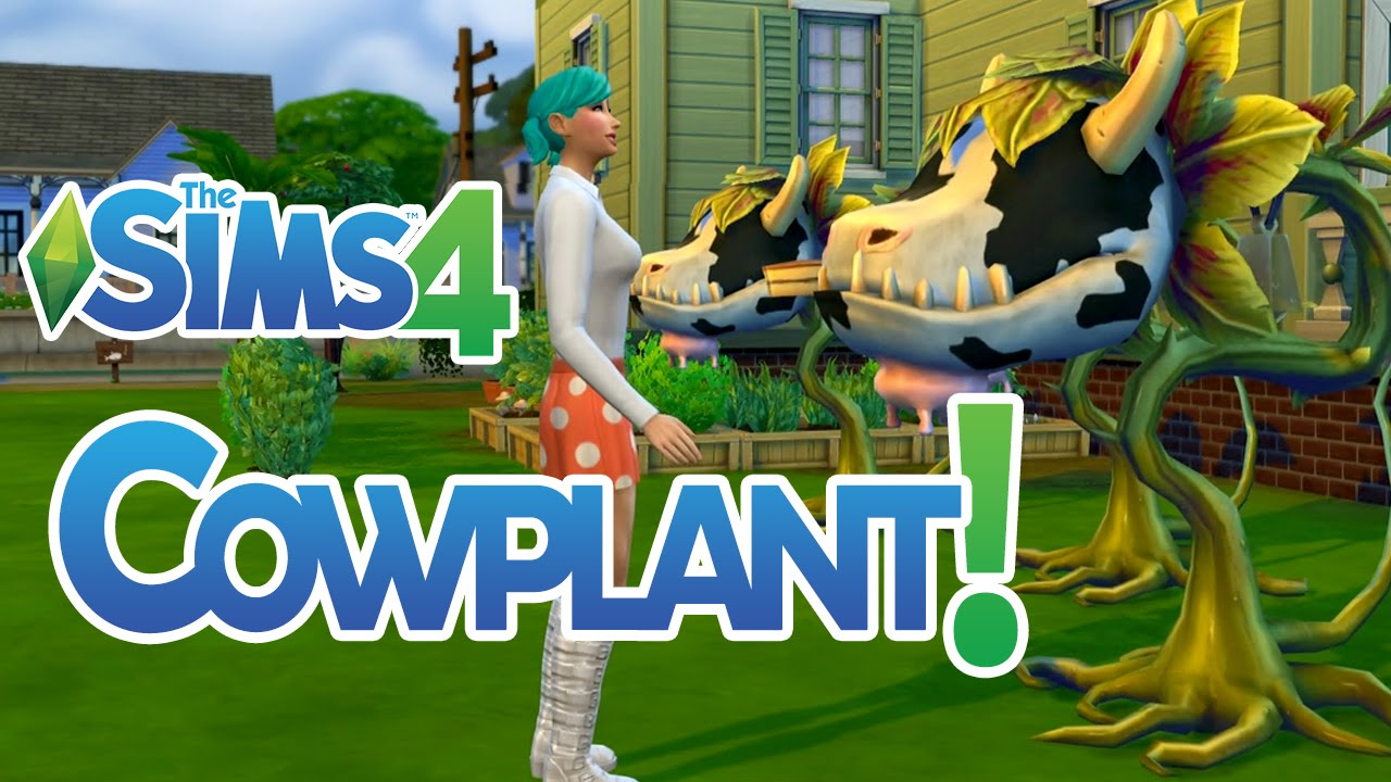 The Sims 32 How to Get a Cow Plant