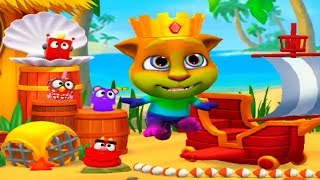 Мой говорящий Том 2 кот Том на курорте Мультик игра для детей  #Том_2 #Том