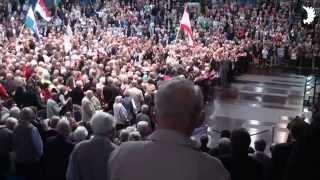 Deutschlandlied und Ausmarsch der Fahnenstaffel, Deutschlandtreffen der Ostpreußen 2014