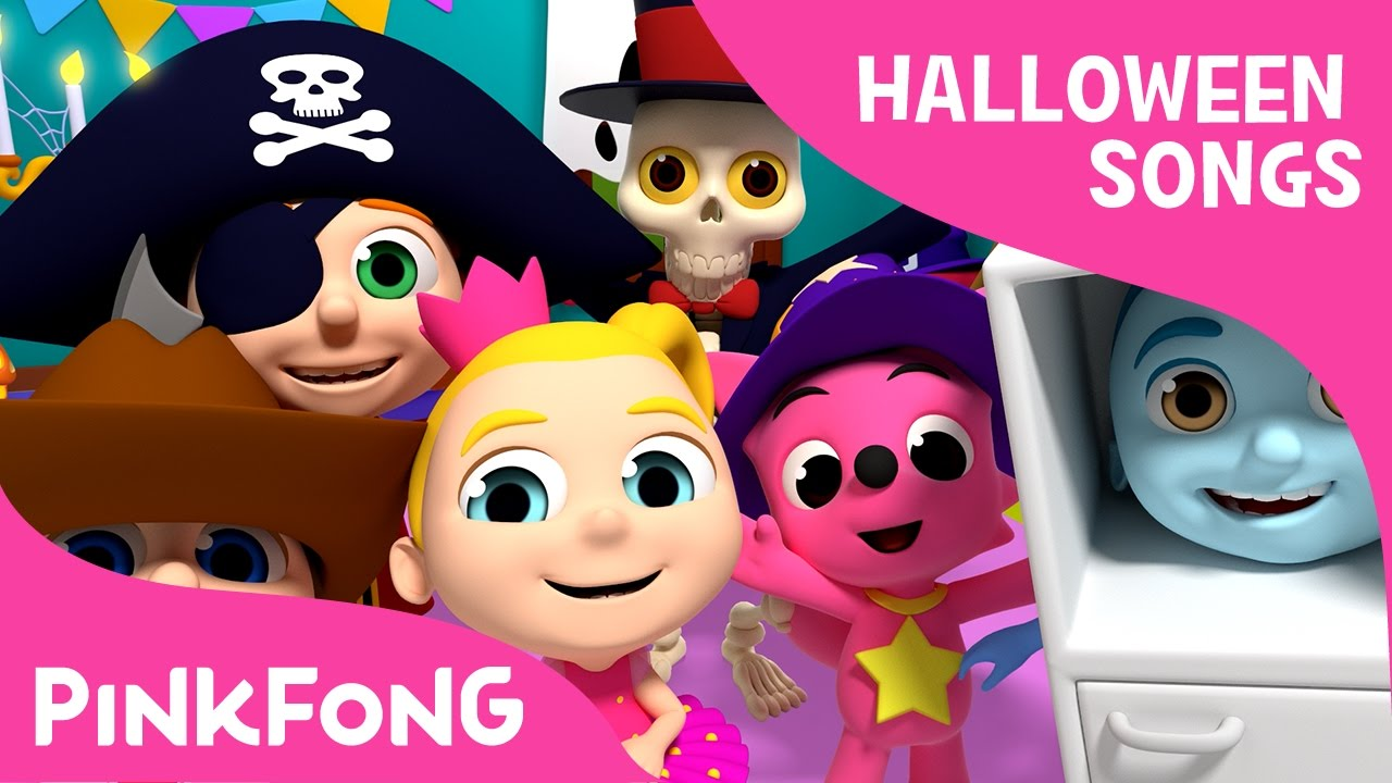 Halloween Costume Party   Halloween Songs   PINKFONG Songs for ...