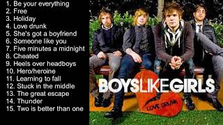 BOYS LIKE GIRLS GREATEST HITS COLLECTION 2019