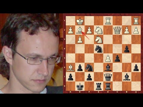 Vadim Zvjaginsev's Amazing Immortal Chess Game! -