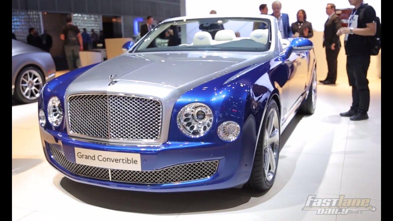 Bentley Grand Convertible Concept LA Auto Show Fast Look - Fast Lane ...