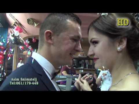 Svadba Belma i Semir (2) dio HD Mersed Hodžić Dom Kulture Lukavac 10-12-2016 Asim Snimatelj.