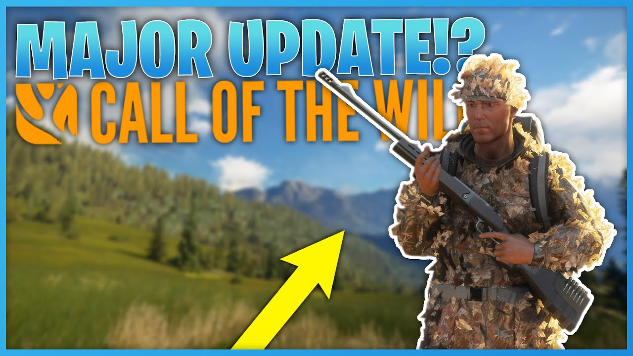 Major Update Coming Soon!?   theHunter Call Of The Wild
