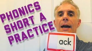 American Phonics-SHORT A Practice 美國自然發音短母音A #英文發音 #自然發音#shortvowels #phonics #longvowels