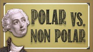 Bonding: Polar Vs. Non-Polar Molecules