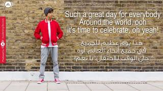 Video Eid Mubarak   Harris J   Arabic&English Lyric download MP3, 3GP, MP4, WEBM, AVI, FLV Desember 2017