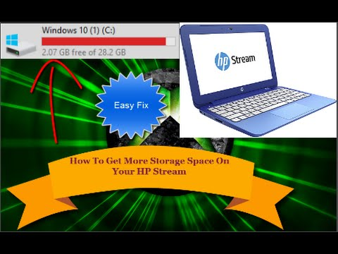 How To Get More Storage On Your HP Stream