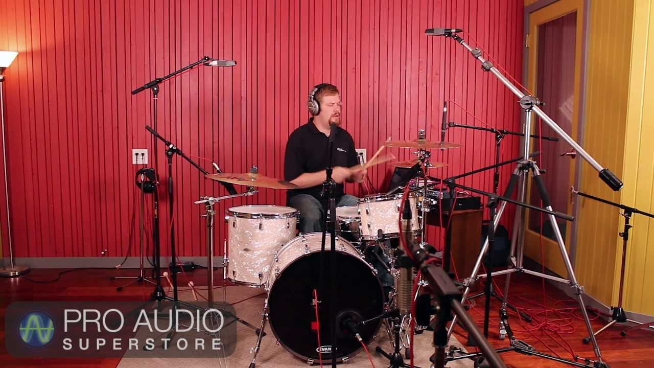 recording drums part 3 full mic setup youtube. Black Bedroom Furniture Sets. Home Design Ideas