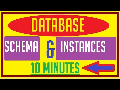 Database Schema And Instances | Database Schema In Dbms | Database Schema And State