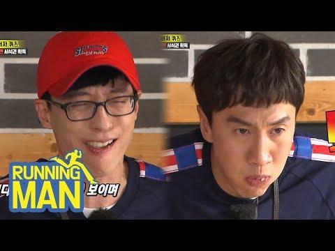 Yoo Jae Suk & Lee Kwang Soo Are Two Ugly Brothers! [Running Man Ep 404]